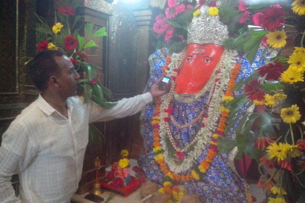 Image result for इंदौर चिंतामन गणेश