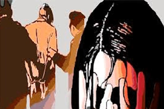 Three men barge into house; one rapes woman labourer, thrashes her husband