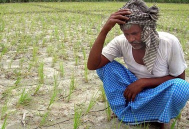 Farmers protesting against water shortage batoncharged