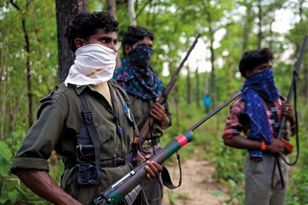 5 naxals arrested from Kuwakonda