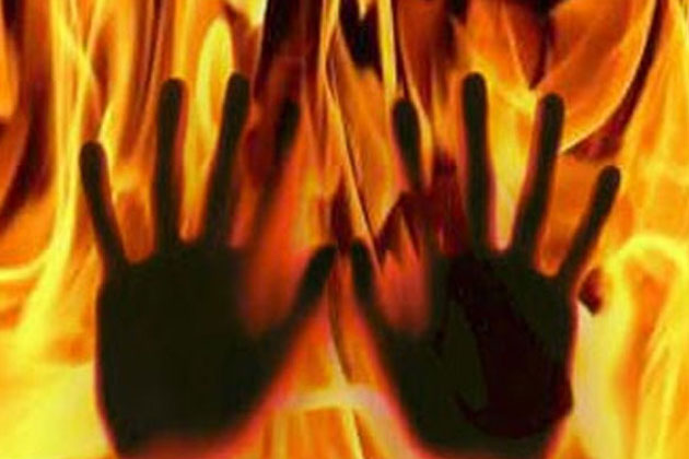 Woman tied to cot, set ablaze for slapping boy who